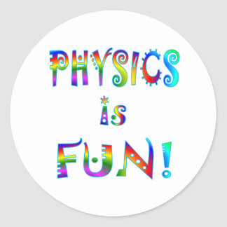 Physics is Fun Stickers