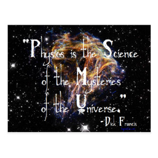 Physics is the Science Postcard