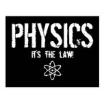 Physics - It's the Law! Postcards