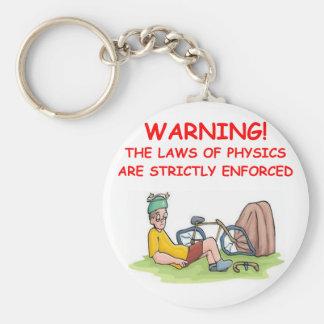 physics key ring