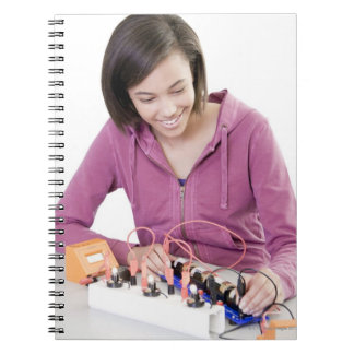 Physics lesson. notebooks
