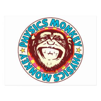 Physics Monkey Postcard