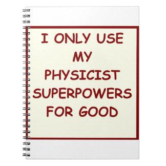 physics notebooks