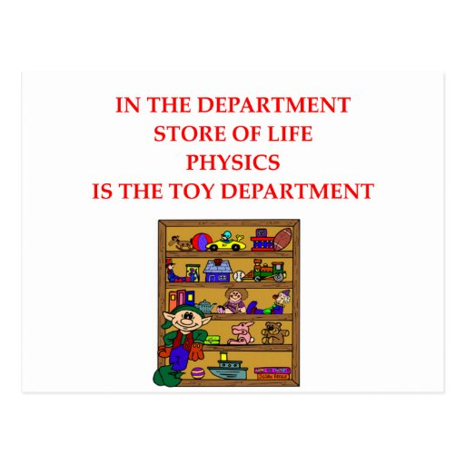 PHYSICS POST CARD