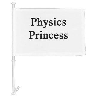 Physics Princess Car Flag