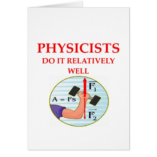 physics question card