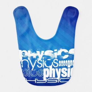 Physics; Royal Blue Stripes Bibs