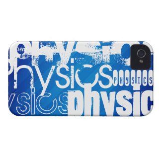 Physics; Royal Blue Stripes iPhone 4 Covers