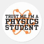 Physics Student Sticker