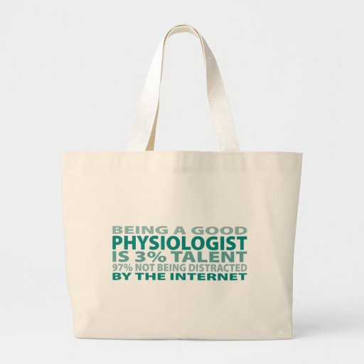 Physiologist 3% Talent Jumbo Tote Bag