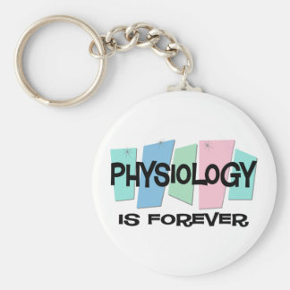 Physiology Is Forever Keychains