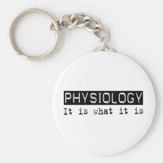 Physiology It Is Keychains