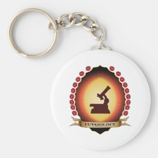 Physiology Mandorla Key Chain