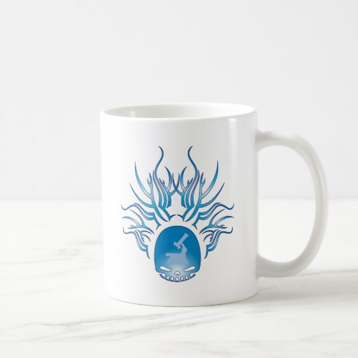 Physiology Skull Coffee Mugs