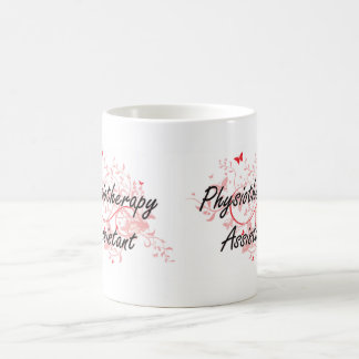 Physiotherapy Assistant Artistic Job Design with B Coffee Mug
