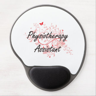 Physiotherapy Assistant Artistic Job Design with B Gel Mouse Pad