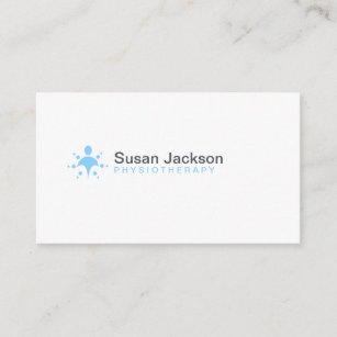 Physiotherapy Business Cards