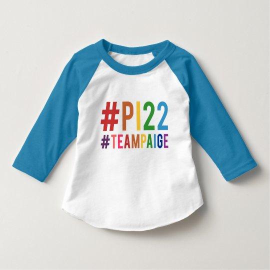 #PI22 Toddler Baseball Tee