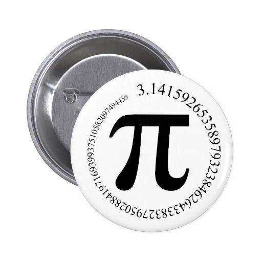 Pi (π) Day Button