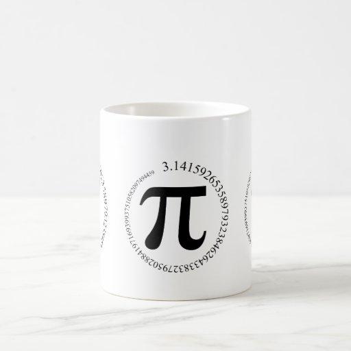 Pi (π) Day Basic White Mug