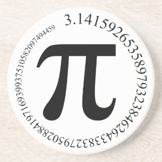 Pi (π) Day Drink Coaster