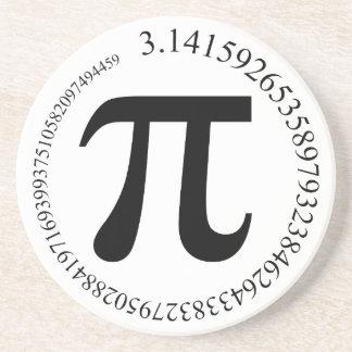 Pi (π) Day Drink Coaster