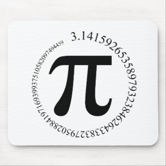 Pi (π) Day Mouse Mat