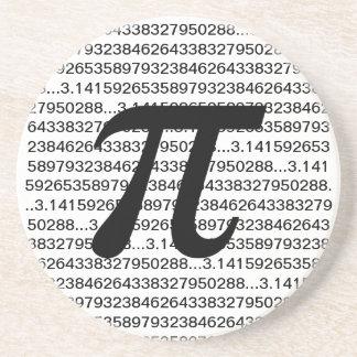 Pi 3.14 Math Geek Coasters