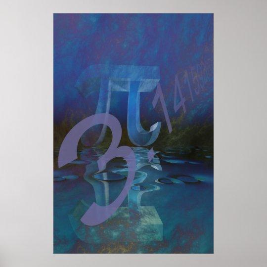 Pi abstract poster