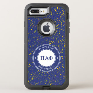 Pi Alpha Phi | Badge OtterBox Defender iPhone 8 Plus/7 Plus Case
