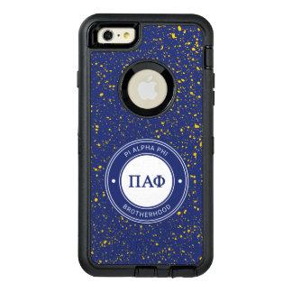Pi Alpha Phi   Badge OtterBox Defender iPhone Case