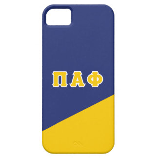 Pi Alpha Phi | Greek Letters iPhone 5 Cases