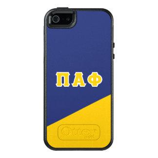 Pi Alpha Phi | Greek Letters OtterBox iPhone 5/5s/SE Case