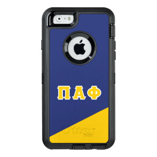 Pi Alpha Phi | Greek Letters OtterBox iPhone 6/6s Case