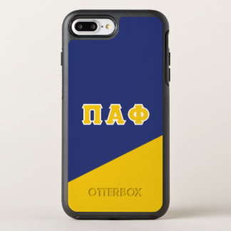 Pi Alpha Phi | Greek Letters OtterBox Symmetry iPhone 7 Plus Case