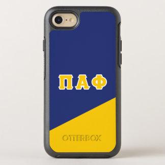 Pi Alpha Phi | Greek Letters OtterBox Symmetry iPhone 8/7 Case