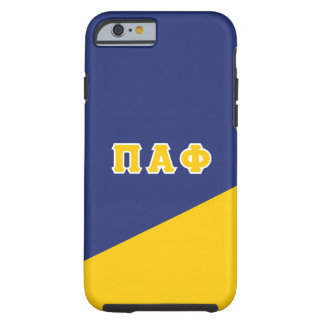 Pi Alpha Phi | Greek Letters Tough iPhone 6 Case