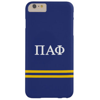 Pi Alpha Phi | Sport Stripe Barely There iPhone 6 Plus Case
