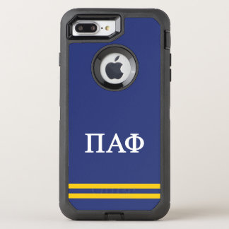 Pi Alpha Phi | Sport Stripe OtterBox Defender iPhone 7 Plus Case