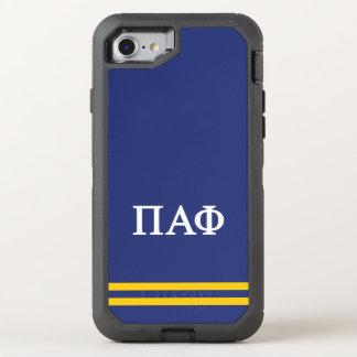Pi Alpha Phi | Sport Stripe OtterBox Defender iPhone 8/7 Case