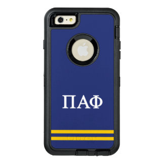 Pi Alpha Phi | Sport Stripe OtterBox Defender iPhone Case