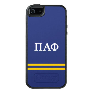 Pi Alpha Phi | Sport Stripe OtterBox iPhone 5/5s/SE Case