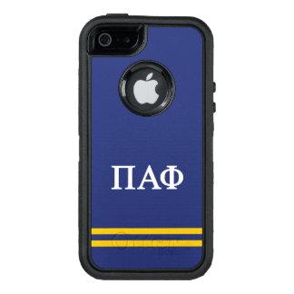 Pi Alpha Phi | Sport Stripe OtterBox iPhone 5/5s/SE Case