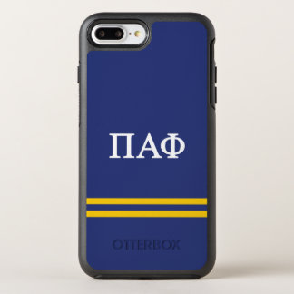 Pi Alpha Phi | Sport Stripe OtterBox Symmetry iPhone 7 Plus Case