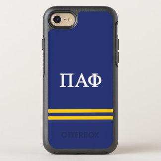 Pi Alpha Phi | Sport Stripe OtterBox Symmetry iPhone 8/7 Case