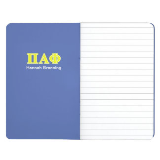Pi Alpha Phi Yellow Letters Journal