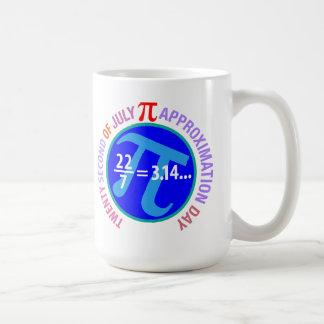 Pi Approximation Day Basic White Mug