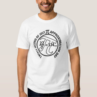 Pi Approximation Day Tshirt