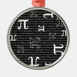 Pi are Square Christmas Ornament