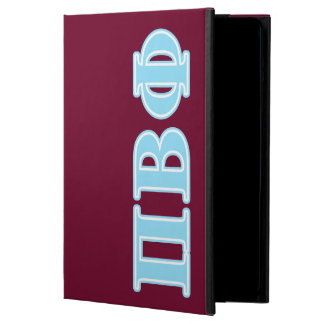 Pi Beta Phi Blue Letters Cover For iPad Air